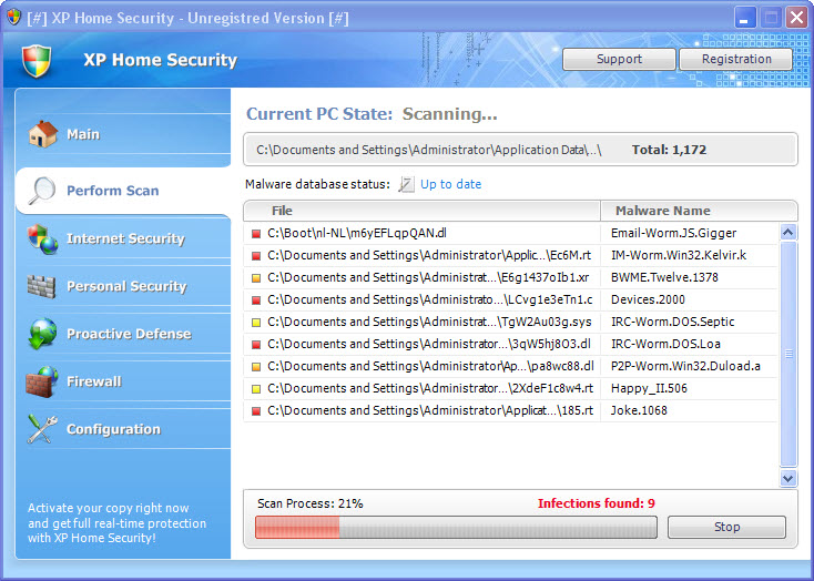 XP Home Security 2011