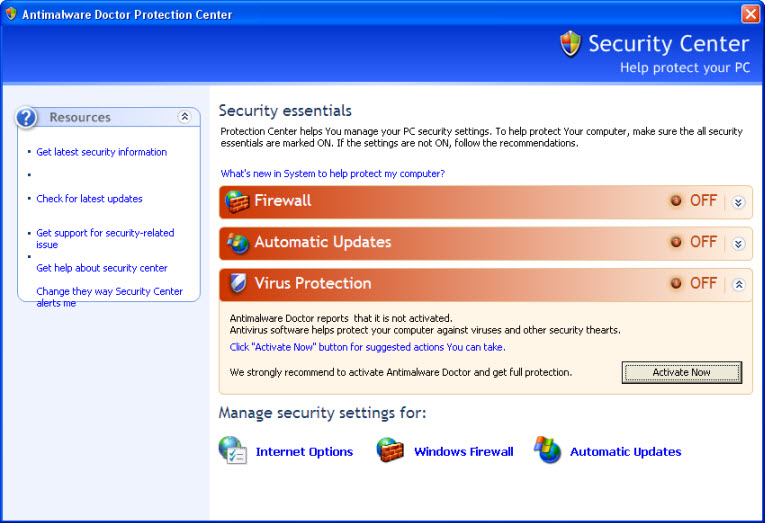 antimalware_doctor_security_center