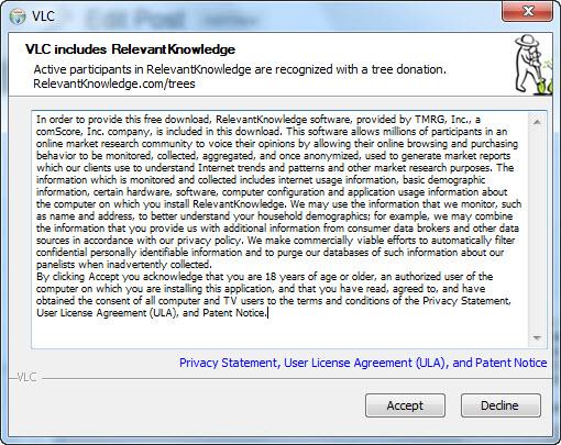VLC RelevantKnowledge